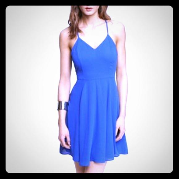 Express Dresses & Skirts - Blue Express Dress